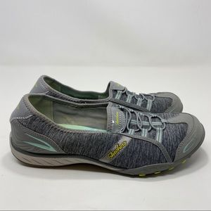 Skechers Women's Gray & Blue Flats Size 8.5 A120